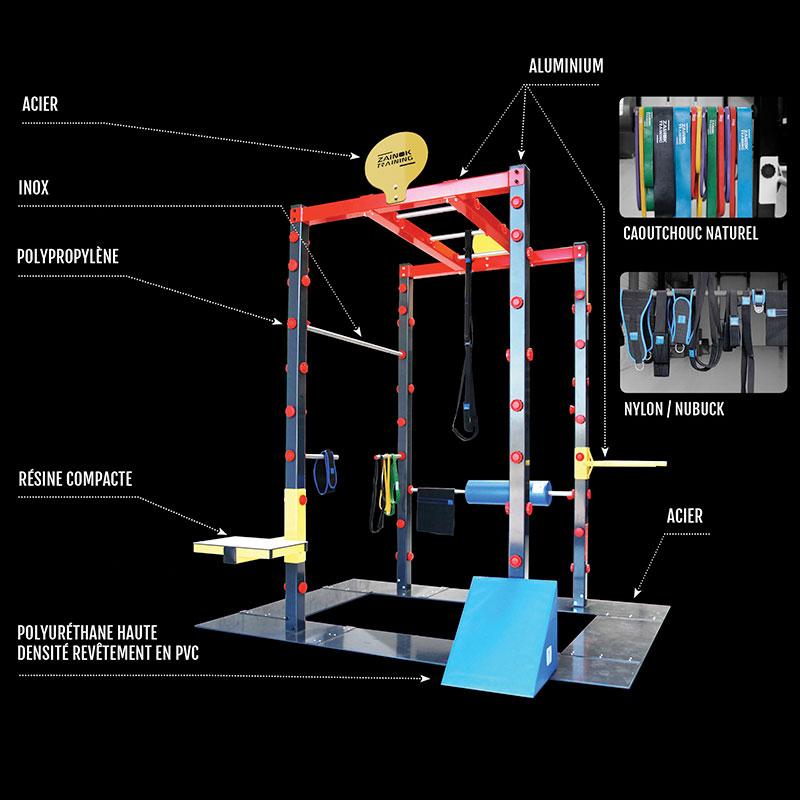 Les matériaux des structures Zainok Training