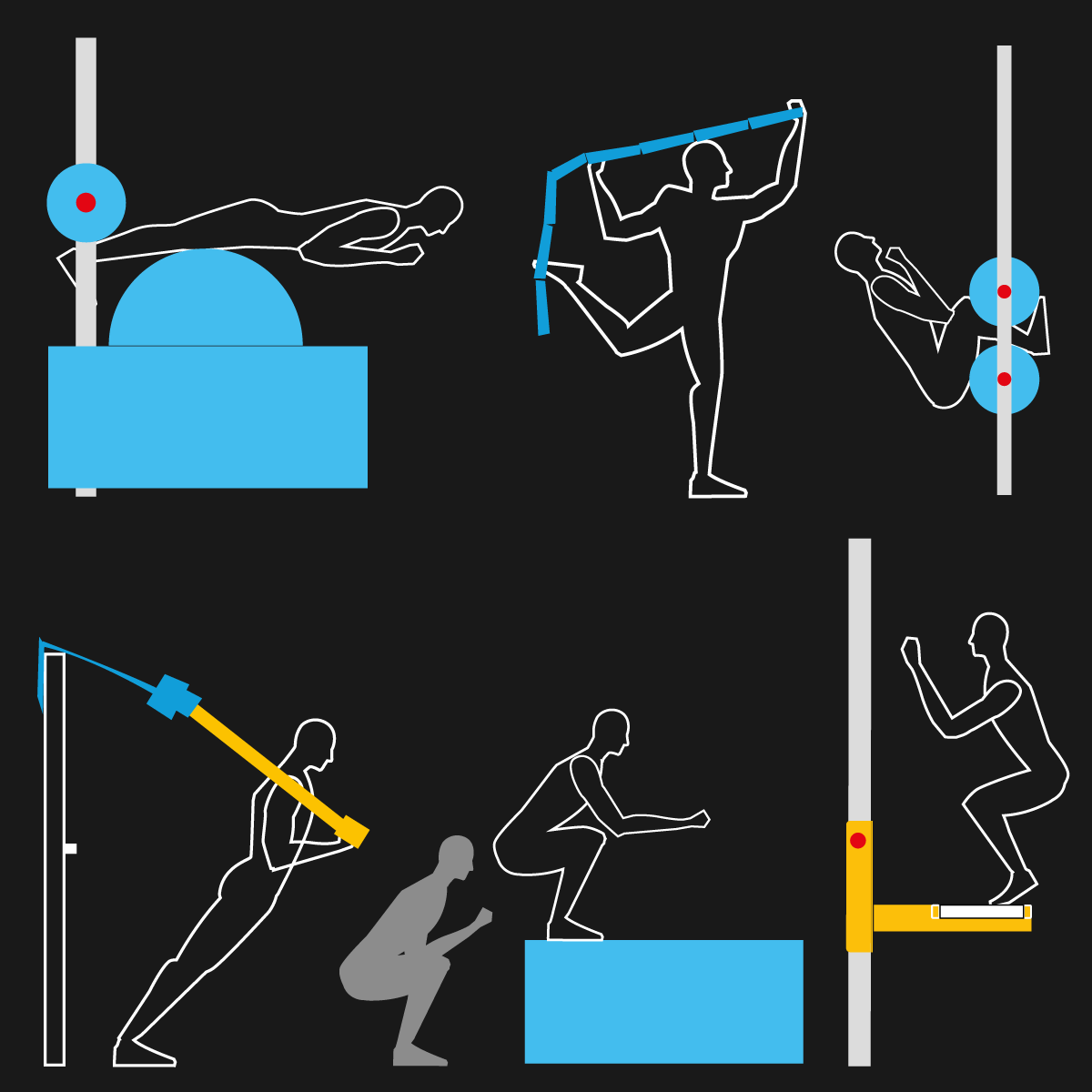 Pliométrie, proprioception, gainage : les bénéfices utilisateur de Zainok Training